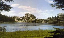 Sylvan Lake - Custer State Park - Formato Piccolo Viaggiata – E 13 - Cartoline