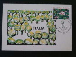 Carte Maximum Card Journée  Du Timbre 1982 Italie - Maximum Cards