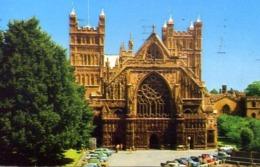The Cathedral - Exeter - Formato Piccolo Viaggiata – E 13 - Cartoline