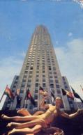 The Highest Building In Rockefeller Center Rises Seventy Stories Above The Ground - Formato Piccolo Viaggiata Mancante D - Cartoline