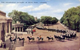 The Household Cavalry In Hyde Park - London - Formato Piccolo Viaggiata – E 13 - Cartoline
