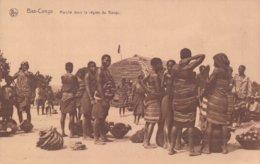 Bas-Congo Bangu Marché Dans La Région Du Bangu - Congo Belga - Otros
