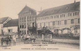 57 - INSMING - FABRIQUE DE COURONNES MORTUAIRES - EMILE EVERLE - Autres Communes