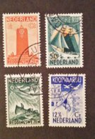 Nederland/Netherlands - NvPH Nrs. 257 T/m 260 (gestempeld/used) Zeemanszegels 1933 - Period 1891-1948 (Wilhelmina)