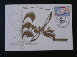 Carte Maximum Card Station Thermale De Paris Enghien Les Bains 95 Val D'Oise 1988 - Hydrotherapy