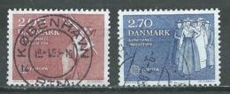 Danemark YT N°752/753 Europa 1982 Faits Historiques Oblitéré ° - Europa-CEPT