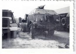 ALGERIE - CAMION ET ENGIN MILITAIRE DOTE D'UN TOURELLE ? - Krieg, Militär