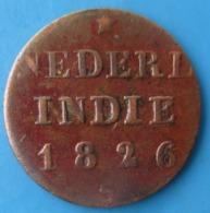 PAYS-BAS, INDES NEERLANDAISES 1/4 Stuiver Aux Armes D'Utrecht Pour Sumatra 1826, Utrecht, TTB - [ 4] Colonies