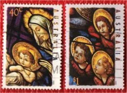 AUSTRALIA - 1995 - NATALE - CHRISTMAS - USATI - 1990-99 Elizabeth II