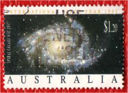 AUSTRALIA - 1992 - Spiral Galaxy - USATO - 1990-99 Elizabeth II