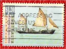 AUSTRALIA - 1992 - Sailing Ship - USATO - 1990-99 Elizabeth II