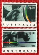 AUSTRALIA - 1992 - PARAOLIMPIADI DI BARCELLONA - USATI - 1990-99 Elizabeth II