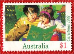 AUSTRALIA - 1992 - CANTI DI NATALE - USATO - 1990-99 Elizabeth II
