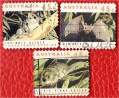 AUSTRALIA - 1992 - ANIMALI MINACCIATI D'ESTINZIONE - USATI - 1990-99 Elizabeth II