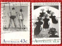 AUSTRALIA - 1991 - 150° ANNIVERSARIO DELLA FOTOGRAFIA IN AUSTRALIA - USATI - 1990-99 Elizabeth II