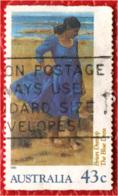 AUSTRALIA - 1990 - The Blue Dress By Brian Dunlop - USATO - 1990-99 Elizabeth II