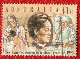 AUSTRALIA - 1990 - CONSTANCE STONE - PRIMA DOTTORESSA AUSTRALIANA - USATO - 1990-99 Elizabeth II