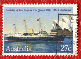 AUSTRALIA - 1983 - NAVE BRITANNIA - USATO - Oblitérés