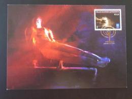 Carte Maximum Card Gymnastique Jeux Olympiques Athenes Olympic Games Grece 2004 - Gymnastik