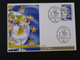 Carte Maximum Card Gastronomie Vin Wine Europa 2006 Italie - Europa-CEPT
