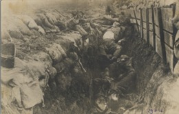 WWI , PRIMERA GUERRA MUNDIAL , TARJETA POSTAL SIN CIRCULAR , SOLDADOS , TRINCHERAS , EJÉRCITO , BATALLAS - Guerra 1914-18