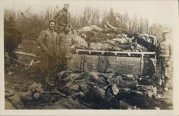WWI , PRIMERA GUERRA MUNDIAL , TARJETA POSTAL SIN CIRCULAR , SOLDADOS , TRINCHERAS , EJÉRCITO , BATALLAS - War 1914-18