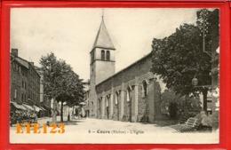 Cours - L'église - Cours La Ville - 69 Rhône - Cours-la-Ville