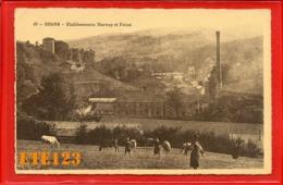 Cours - établissements - établissement MARTRAY Et POIZAT - Troupeau De Vaches - Usine - Cours La Ville - 69 Rhône - Cours-la-Ville