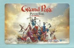 Ticket D'entrée - Grand Parc Du Puy Du Fou 85 - Parc D' Attraction Saison 2019 à Noter Quelques Imperfections - Tickets D'entrée