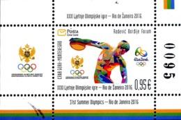 2016 Olympic Games Rio De Janeiro, Brazil, Montenegro, MNH - Montenegro
