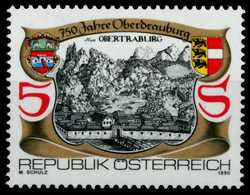 ÖSTERREICH 1990 Nr 1996 Postfrisch SB5F2C2 - 1981-90 Ongebruikt