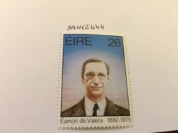 Ireland Eamon De Veleras Politician 1982  Mnh - 1949-... Republic Of Ireland