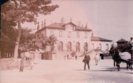 Morges VD, Photo De La Gare, Attelage (2464) Photo Avec Un Angle Coupé - VD Vaud