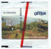 GETESA Paysage De Guinée SC7 MINT FOLDER NEUVE NSB (FB1217) - Guinée-Equatoriale