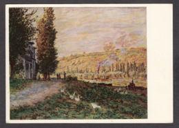 PM167/ Claude MONET, *Talus Au Bord De La Seine Près De Lavacourt*, Dresden, Staatliche Kunstsammlungen - Paintings
