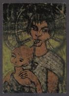 PM185/ Otto MUELLER, *Zigeunermadonna - Maternité Dite La Madone Des Bohémiens*, Collection Privée - Peintures & Tableaux