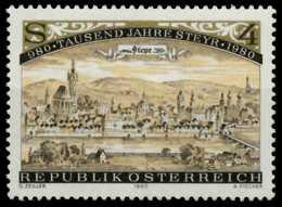 ÖSTERREICH 1980 Nr 1645 Postfrisch S59E42E - 1971-80 Ongebruikt