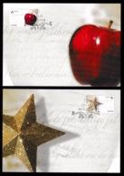NORWAY 2009 Christmas: Set Of 2 Maximum Cards CANCELLED - Cartes-maximum (CM)