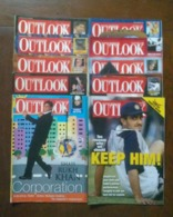 10 OUTLOOK MAGAZINE ISSUES BACK ISSUES LOOK !! - News/ Current Affairs