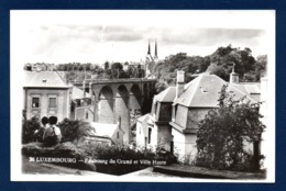 Luxembourg - Ville . Faubourg Du Grund Et Ville Haute. Enfants. - Luxemburg - Stadt