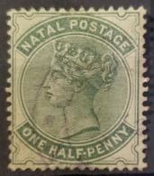 NATAL 1880 - Canceled - Sc# 64 - 1/2p - Natal (1857-1909)