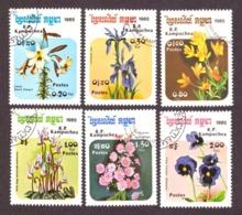 Kampuchea 1985 -  Flowers - Flora - Flores - Fleurs - Kampuchea