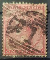 NATAL 1874/78 - Canceled - Sc# 51 4 - 1p - Natal (1857-1909)