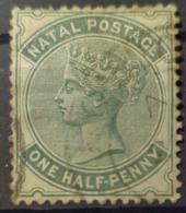 NATAL 1880 - Canceled - Sc# 64 - 1.5p - Natal (1857-1909)
