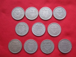 Chile Lot 10 Different 20 Cent 1925-40 - Chile