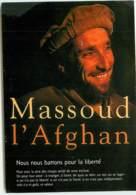 MASSOUD  L'afghan Carte De L'association Afghanistan Bretagne 99 Rue Leguen à RENNES  Ref 1439 - Personnages