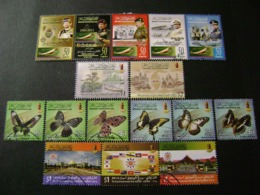 Brunei 2012 To 2016 Commemoratives/special Issues (between SG 825 And 875 - See Description) 3 Images - Used - Brunei (1984-...)