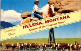 Montana Greetings From Helena - Helena