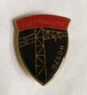 Distintivo Metallico Elettricista HZSOH Specialità Esercito Italiano Spilla In Metallo Specialita' Rara Anni '80 - Altri