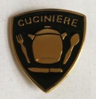 Distintivo Metallico Cuciniere Specialità Esercito Italiano Spilla In Metallo Specialita' Rara Militare - Altri